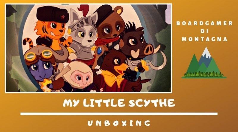 My little scythe unboxing