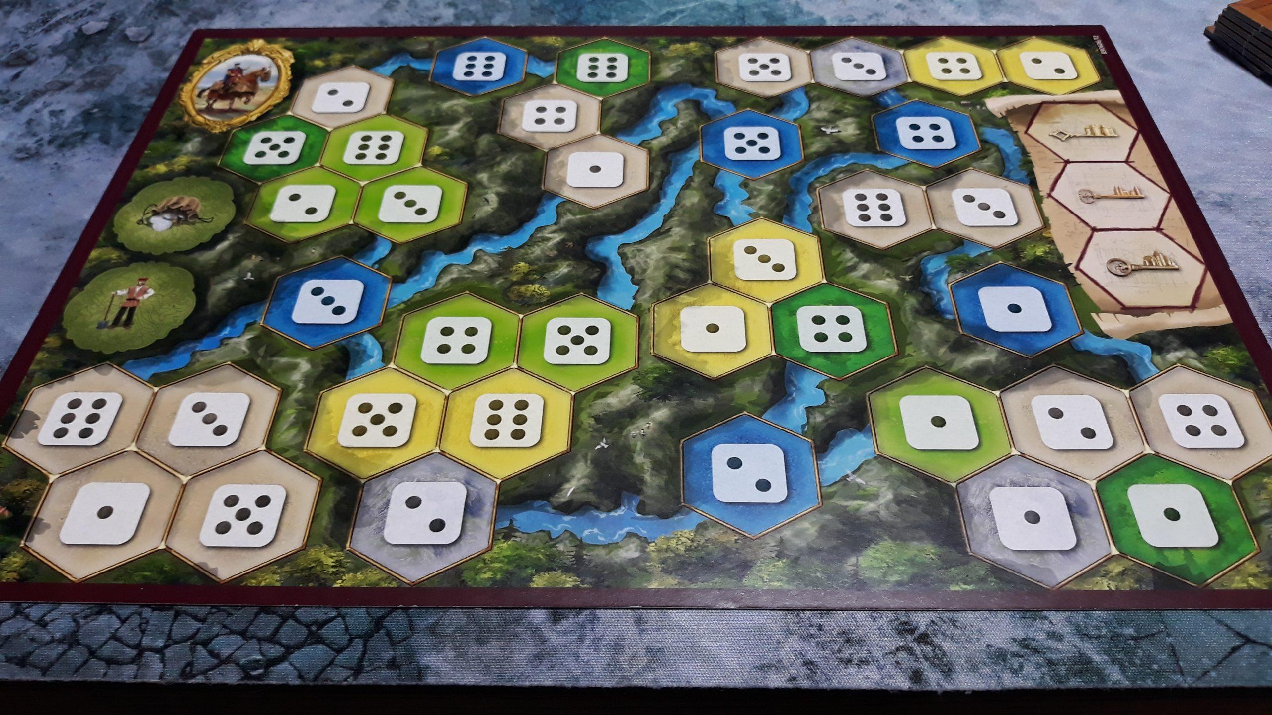 I castelli della Borgogna - plancia solitario