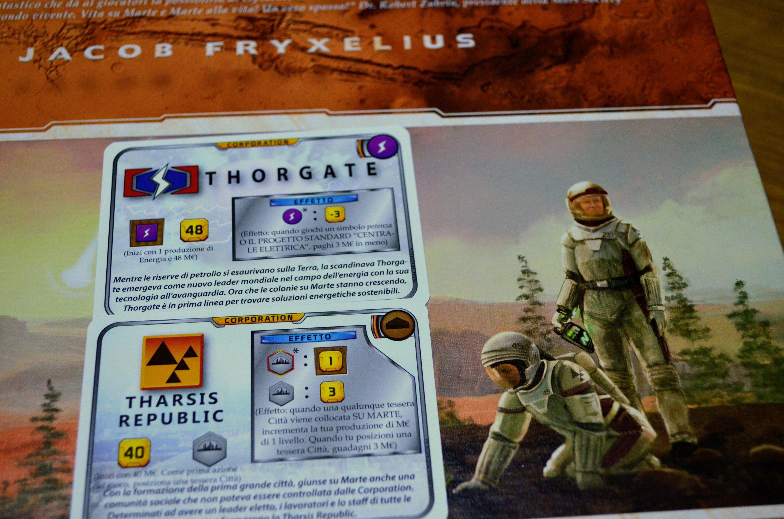 Terraforming Mars Corporations